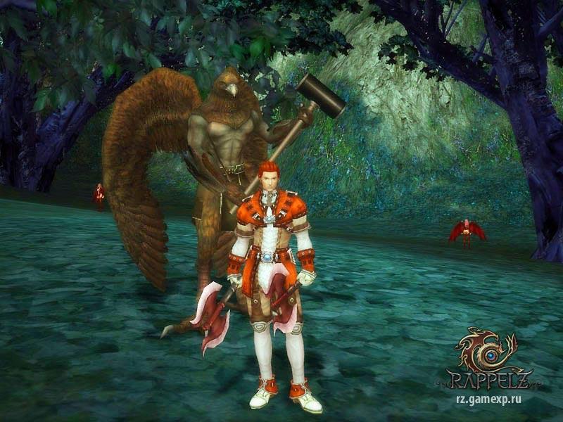 Rappelz онлайн MMORPG ММОРПГ игра, популярные новые онлайн ...